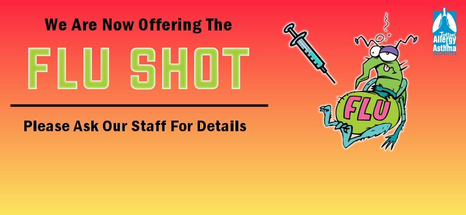 We Are Now Offering Flu Shots!