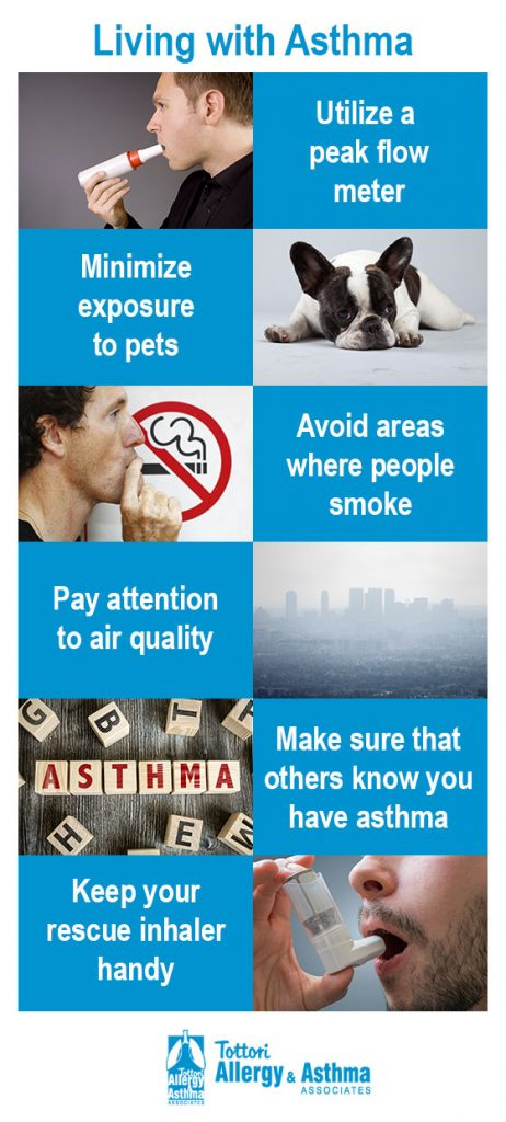 Living with Asthma - Tips for living with asthma
