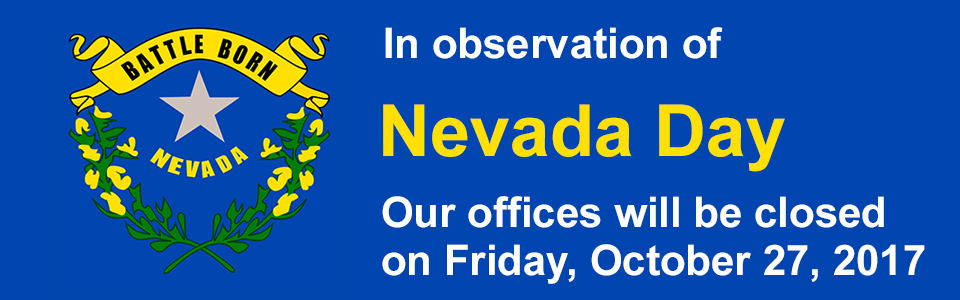 Tottori Allergy - Closed 10/27/17 in observation of Nevada Day