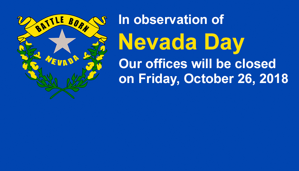 Tottori Allergy - Closed 10/26/18 in observation of Nevada Day