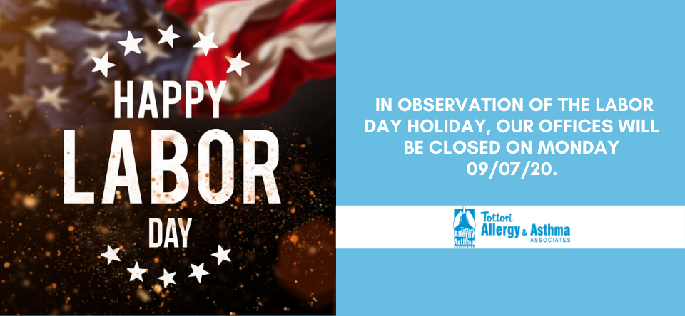 Our Office Will Be Closed on Labor Day