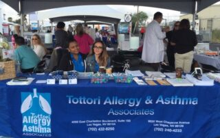las vegas allergy doctor tottori at health fair