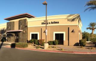 exterior of tottori allergy & asthma