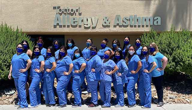 Tottori allergy and asthma staff for the best allergist near me