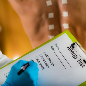 Allergist Las Vegas with checklist about what patient is allergic to