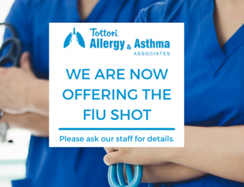 We Are Now Offering the Flu Shot