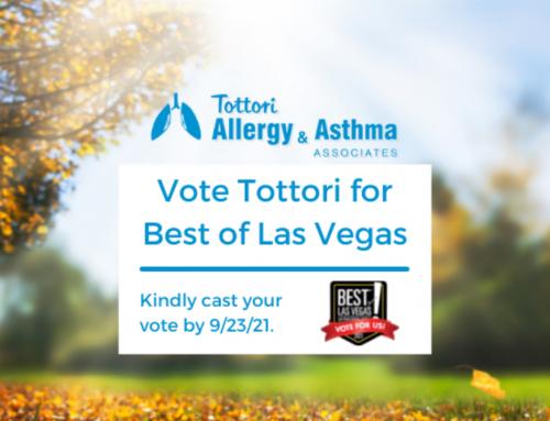 Vote Tottori Allergy & Asthma for Best of Las Vegas